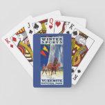Deportes de invierno en Yosemite PosterYosemite, Cartas De Póquer