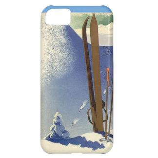 Deportes de invierno - engranaje del esquí funda para iPhone 5C