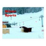 Deportes de invierno, Haute el Jura 1 Tarjeta Postal