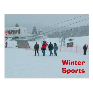 Deportes de invierno, Haute el Jura Postales