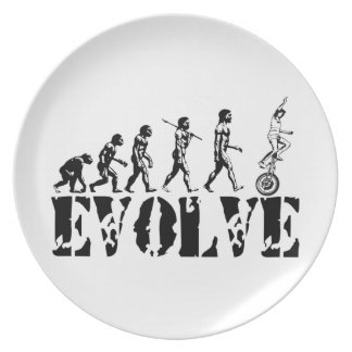 Deportes de la evolución del Unicycle del Unicycli Plato De Cena