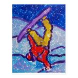 Deportes de la nieve por Piliero Tarjeta Postal