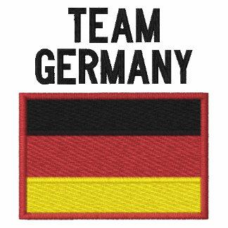 Deportes del alemán de Alemania del equipo Polo Bordado De Mujer