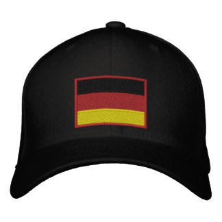 Deportes del alemán de Deutschland del equipo Gorra Bordada