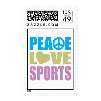 Deportes del amor de la paz envio