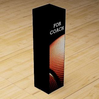 deportes del baloncesto caja para bino