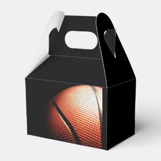deportes del baloncesto cajas para regalos de boda