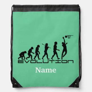Deportes del baloncesto personalizados mochila