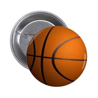 Deportes del baloncesto pin redondo de 2 pulgadas