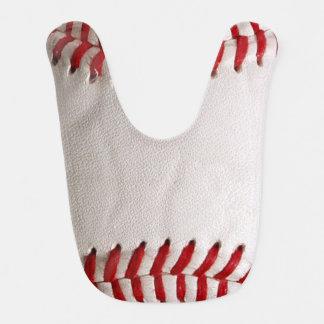 Deportes del béisbol baberos
