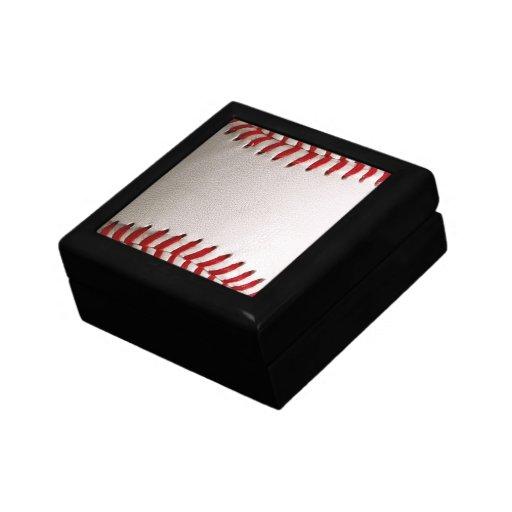 Deportes del béisbol caja de joyas
