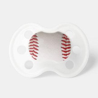 Deportes del béisbol chupete de bebé