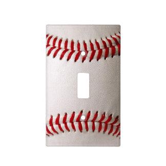 Deportes del béisbol cubiertas para interruptor