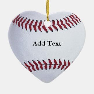 Deportes del béisbol adorno