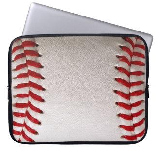 Deportes del béisbol funda computadora