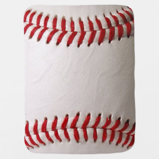 Deportes del béisbol manta de bebé