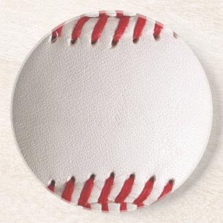 Deportes del béisbol posavasos de arenisca