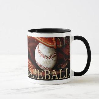 Deportes del béisbol taza