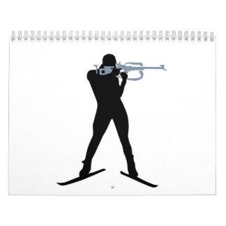 Deportes del Biathlon Calendarios