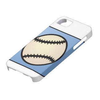Deportes del clip art del dibujo animado, béisbol, funda para iPhone SE/5/5s