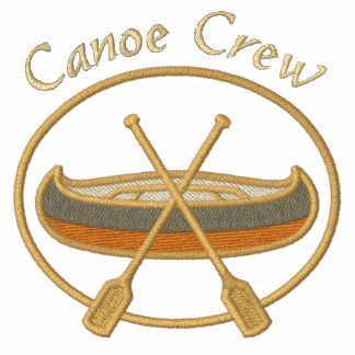 Deportes del equipo de la canoa sudadera con serigrafia