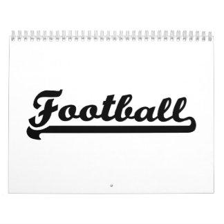 Deportes del fútbol calendarios