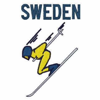 Deportes del personalizado de Suecia del esquí