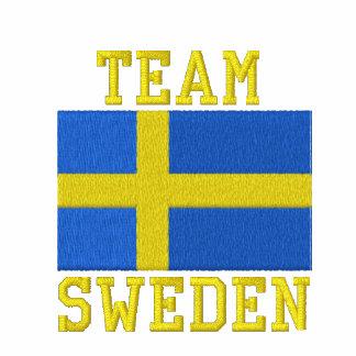 Deportes del sueco de Suecia del equipo Polo Bordado