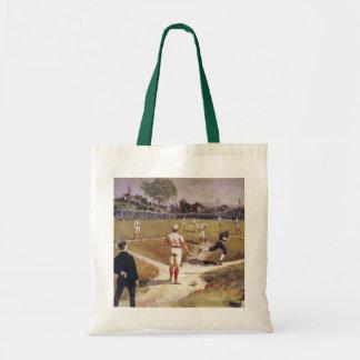 Deportes del vintage, béisbol de Louis Prang Bolsa