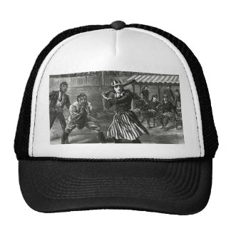 Deportes del vintage equipos del béisbol de las m gorras de camionero