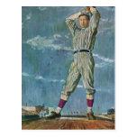 Deportes del vintage, jarra del jugador de béisbol