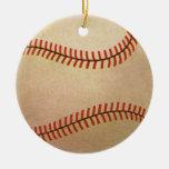 Deportes del vintage, jugador de béisbol, colector ornamentos de reyes magos