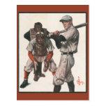 Deportes del vintage, jugadores de béisbol