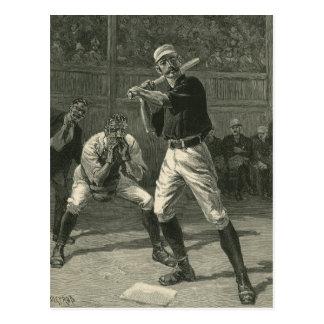 Deportes del vintage jugadores de béisbol antiguo tarjetas postales