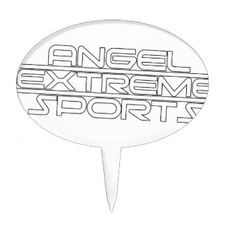 Deportes extremos del ángel - AXS - marca - 1 Figura De Tarta