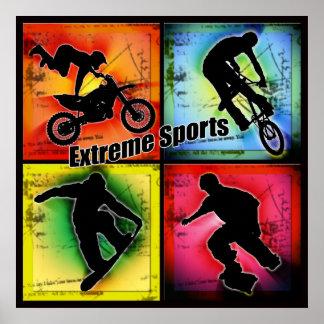 Deportes extremos póster