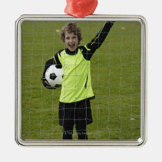 Deportes forma de vida fútbol 7 adorno para reyes