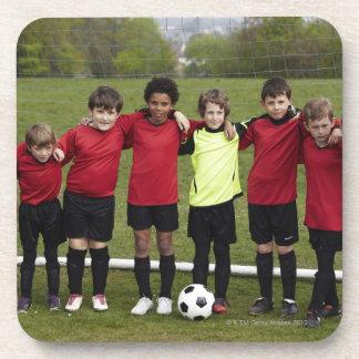 Deportes, forma de vida, fútbol 8 posavaso