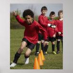 Deportes, forma de vida, fútbol poster