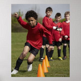 Deportes forma de vida fútbol poster