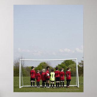 Deportes. Forma de vida, fútbol Póster