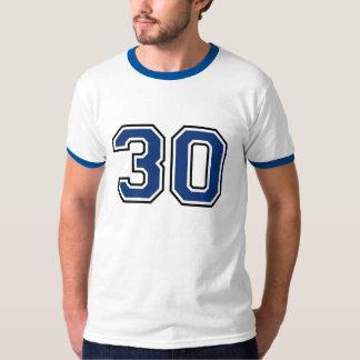 Deportes número 30 remeras
