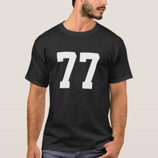 Deportes número 77 playera