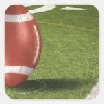deportes pegatina cuadrada