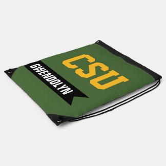 Deportes personalizados de la escuela del equipo u mochila