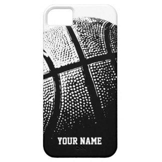 Deportes personalizados del baloncesto del caso el iPhone 5 carcasas