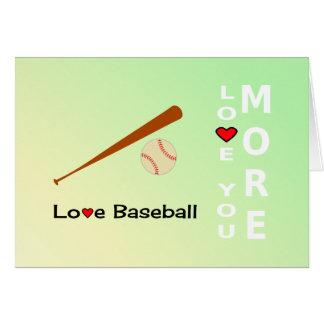 Deportes románticos del día de San Valentín del Tarjeta De Felicitación