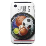 Deportes Tough iPhone 3 Cárcasas
