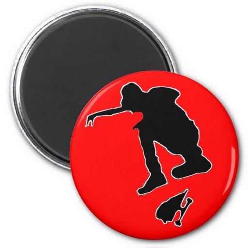 Deportes y edición del juego imán redondo 5 cm