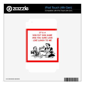 deportes y juegos skins para iPod touch 4G